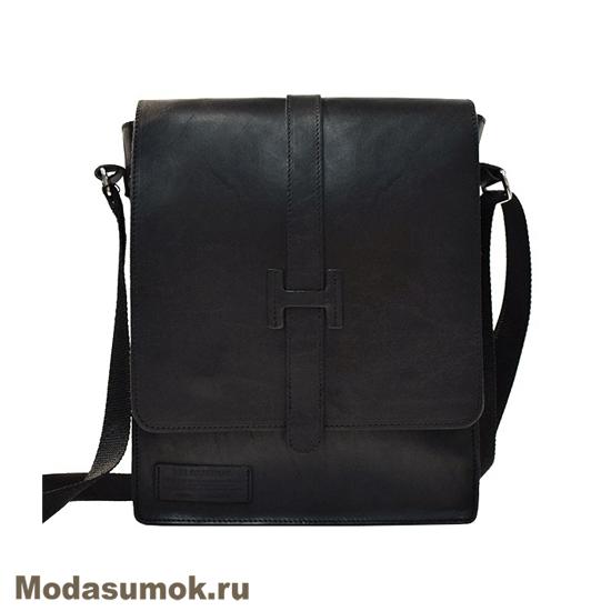 d472b81e5d01 Сумка-планшет мужская из натуральной кожи BB1 940120 черная купить в ...